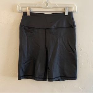 Victoria's Secret Sport Black Biker Workout Shorts
